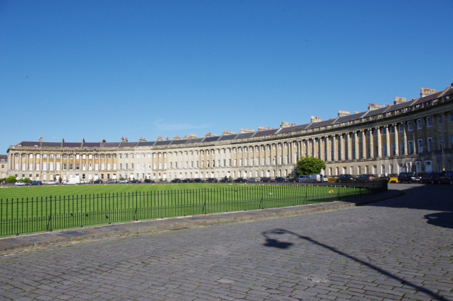 The Royal Crescent, Bath - Pianist Somerset