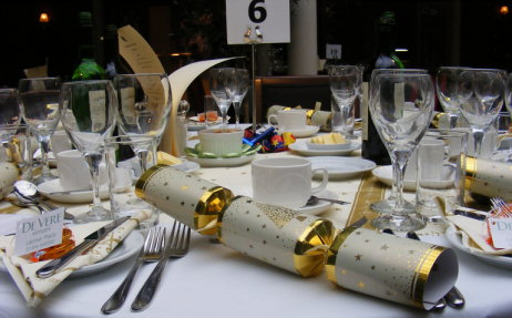 Christmas Cracker and Place Setting