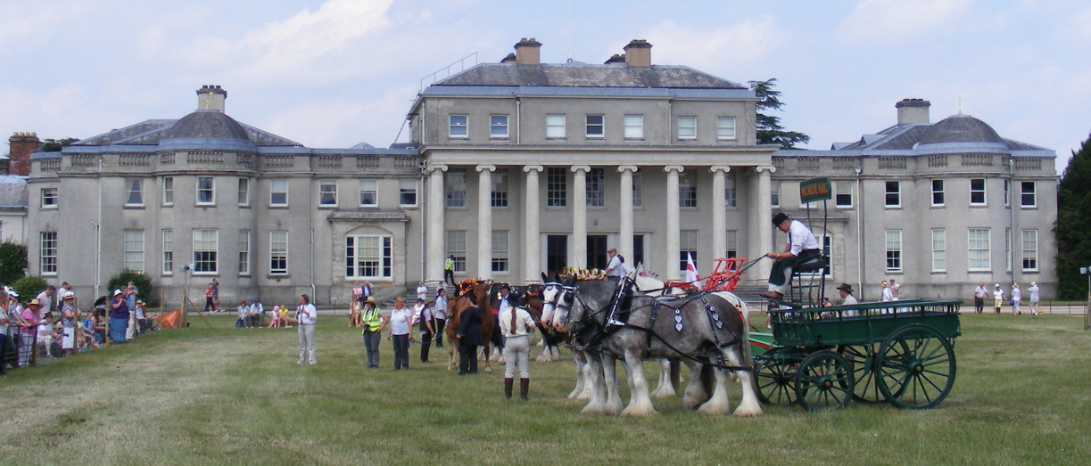 Shugborough Hall, Staffordshire - I have performed at this venue many times as a pianist.
